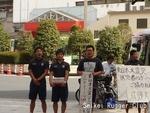 東日本大震災第二回募金活動2